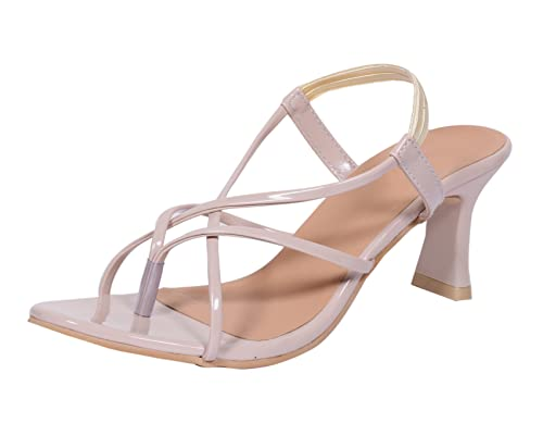 ba493d11fc59d Indistar Womens Fashionable   Stylish Party Wear Casual and Formal High  Heel Sandals for Women-