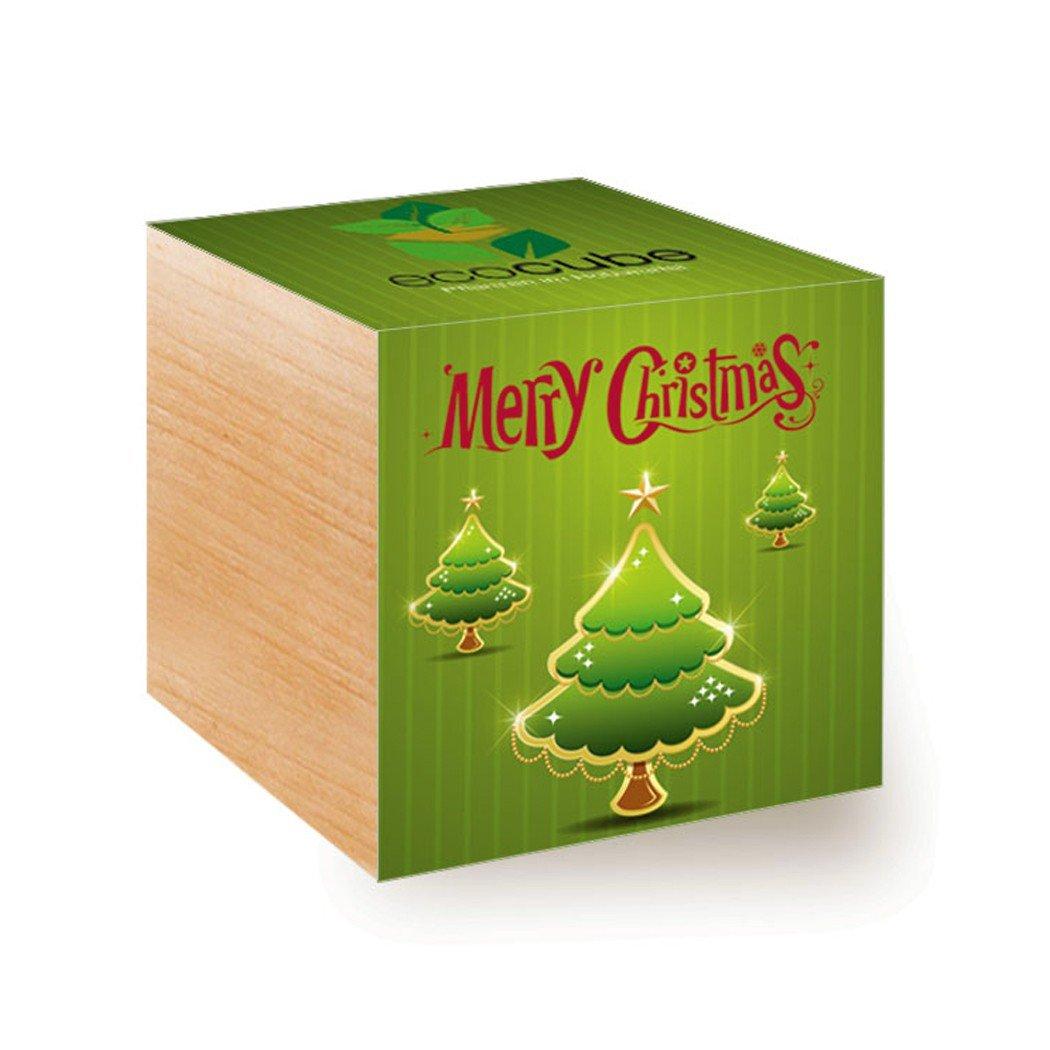 ecocube Holzwürfel - Weihnachtsbaum Xmas Tree 2 Feel Green