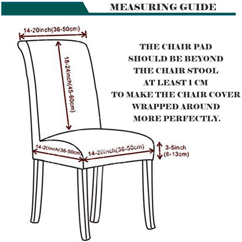 Funda para Silla, Fundas para sillas de Comedor Protector de Silla con Respaldo Alto extraíble Lavable con Estiramiento elástico S Multicolored Geometry