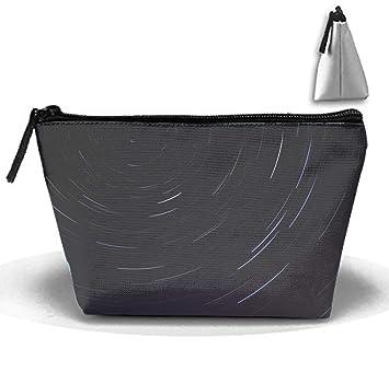 f63a4cf98b6e Amazon.com : Abstract Astronomy Dark Toiletry Bag, Travel Makeup ...