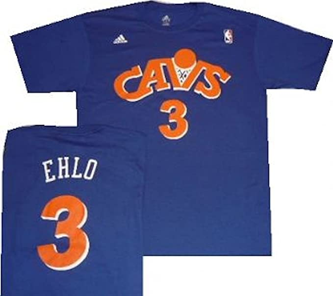 super popular 9946a 9576a adidas Cleveland Cavaliers Craig Ehlo Throwback Hardwood Classics Blue Shirt