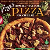 Amy's Roasted Vegetable Pizza, No Cheese, Organic, 12-Ounce Boxes (Pack of 8)