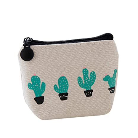 Monedero Bigboba de tela con diseño de cactus, tamaño ...