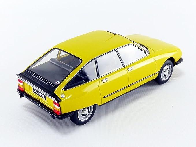 Norev® NV181624 No 1:18 1979 Citroen GS X3 - Mimosa amarillo: Amazon.es: Juguetes y juegos
