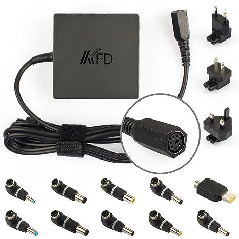 KFD 90W Adaptador Cargador Universal para portátil de 19V 19,5V 20V 18,5V