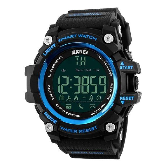 Reloj Inteligente Xinan Reloj Impermeable Bluetooth Resistente al Agua Phone Mate para teléfono Inteligente Deportivo con