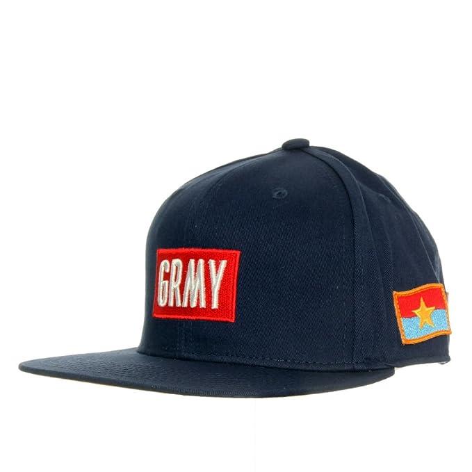 Grimey Punji Stick Mind Cap - Gorra para hombre, talla UNICA, color NAVY: Amazon.es: Ropa y accesorios