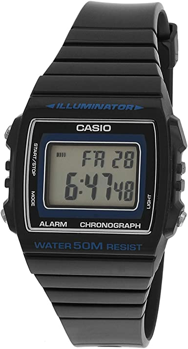Casio Reloj con Movimiento Cuarzo japonés W-215H-8A 43.8 mm