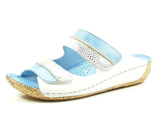 031059 Gemini Damen Pantolette baby blue Blau