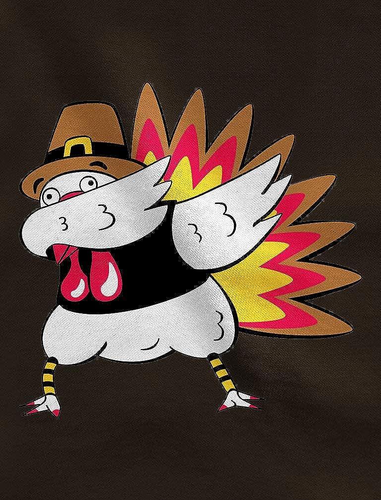 Tstars Thanksgiving Funny Turkey Dab Dabbing Youth Kids Sweatshirt