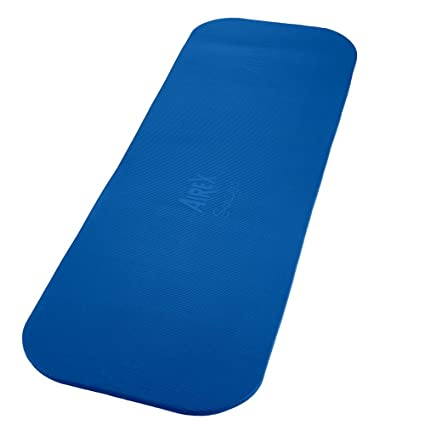 amazon com spri airex coronella exercise mat (blue, 72 x 23 x 0 6spri airex coronella exercise mat (blue, 72 x 23 x 0 6 inch)