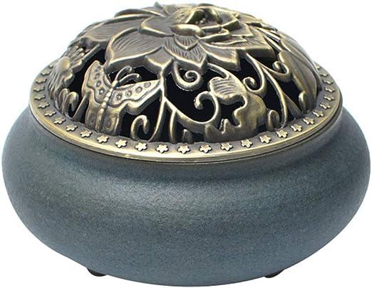 Quemador de Incienso, cerámica para el hogar, purificador de Aire ...