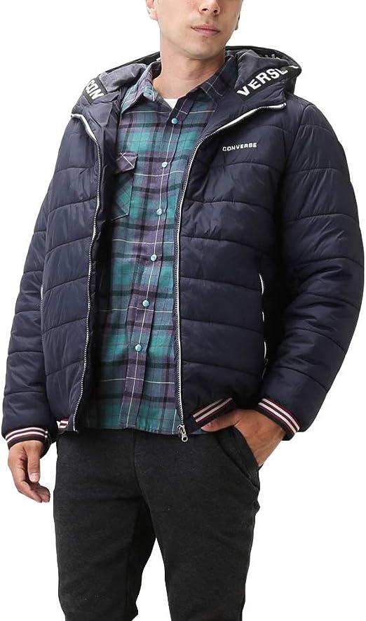 CONVERSE コンバース ダウンジャケット メンズ アウター 中綿ジャケット ブルゾン リブ 撥水 防寒 暖かい 9540-7405