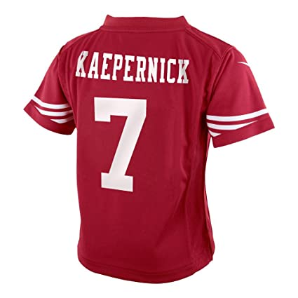 Nike Colin Kaepernick San Francisco 49ers NFL Infants Red Home On-Field Game  Day Jersey 5e82fcacb
