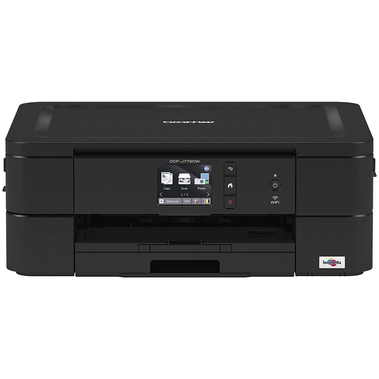 Printers  Multifunction Printers BROTHER DCPJ772DWZU1 DCP-J772DW MFP 6000X1200 5.6IPM 128MB PRNT//CPY//SCN
