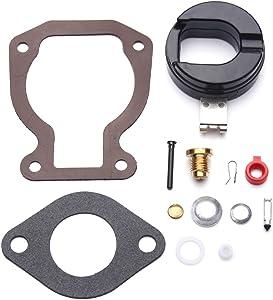 Carbman Replacement Carburetor Carb Repair/Rebuild Kit for Johnson Evinrude 398453 Float 4-15 hp