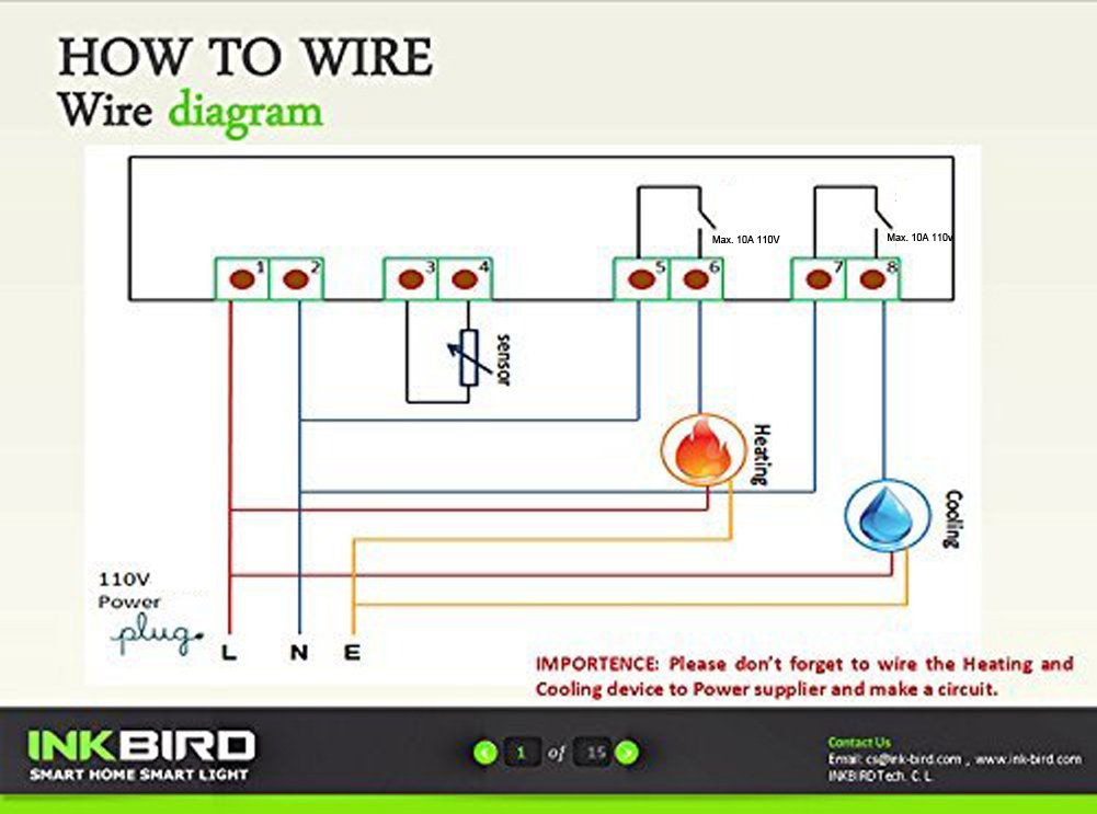 615eQmgREXL._SL1001_ inkbird all purpose digital temperature controller fahrenheit mh1210f wiring diagram at bayanpartner.co