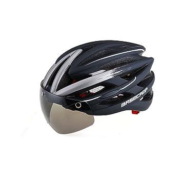 Uno de los cinturones magnéticos con gafas Ciclismo de bicicleta de carretera Bicicleta MTB bicicleta Casco