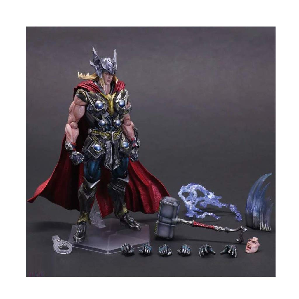 DNSJB Comic Anime Toy Model Avengers Raytheon Home Office Toy Decoration