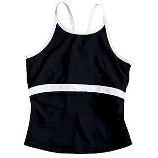 InSport Black Strap Multifunzione Top Regola la Temperatura Fitness, 14050