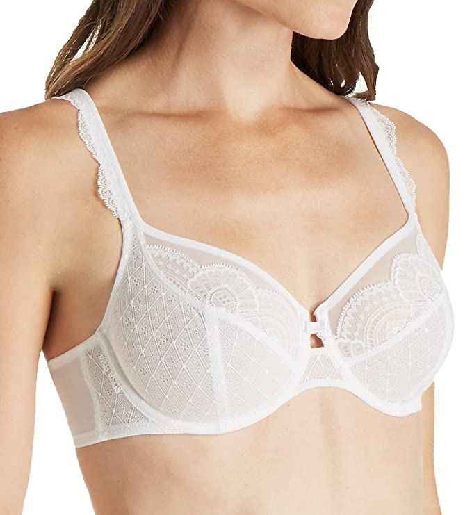 65d60ca56 Anita 5634-006 Women s Rosa Faia Selma White Lace Underwired Full Cup Bra   Anita  Amazon.ca  Sports   Outdoors