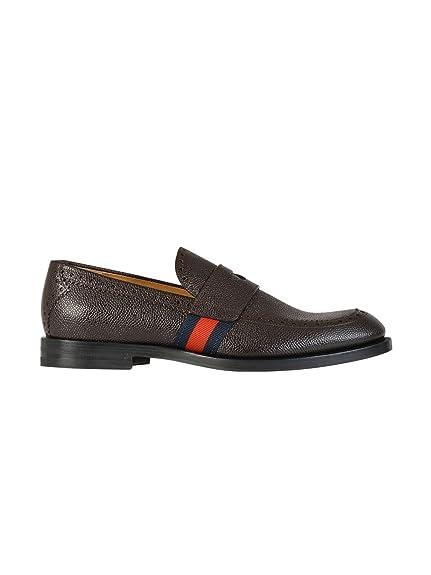 Gucci - Mocasines Hombre, marrón (marrón), 41.5 IT - Taille Fabricant 7.5: Amazon.es: Zapatos y complementos