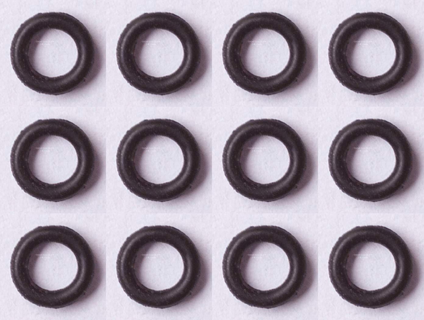 THOR-DARTS Gummiringe schwarz im Beutel Beutel Beutel Tütchen, verhindern zuverlässig das Lösen des (Alu)-Dart-Schaftes BZW. der eingeschraubten Spitze vom Barrel, passend für alle 2BA-Gewinde B07BFS5M5F Dartpfeil-Schfte Neues Produkt b256eb