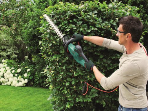 615eSBaoWeL - Bosch AHS 60-26 Electric Hedge Cutter, 600 mm Blade Length, 26 mm Tooth Opening