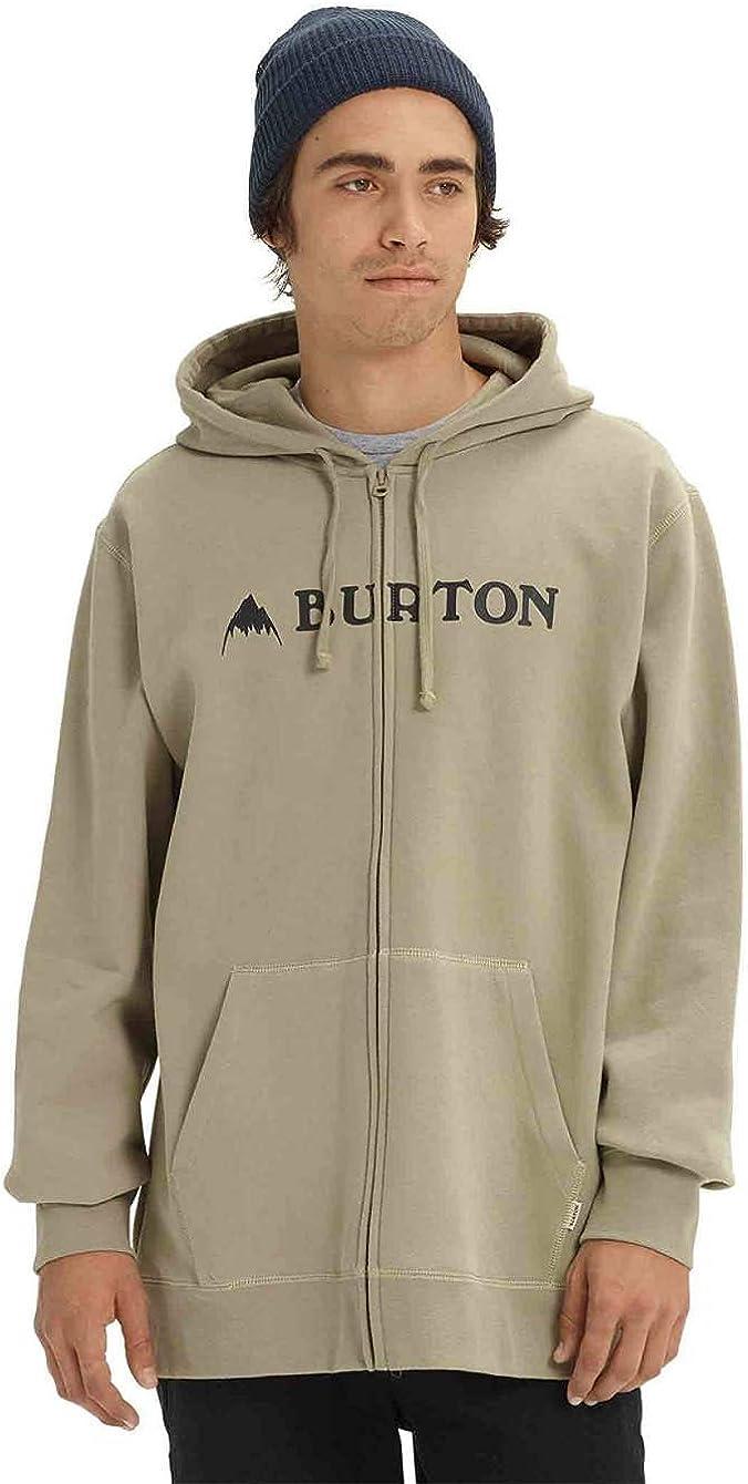 Burton Herren Kapuzenpullover Mountain Logo Horizontal