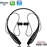 SellnShip Lambent HBS-730 Neckband Bluetooth Wireless Sport Stereo Headsets Handsfree with Microphone for Android, Apple Devices