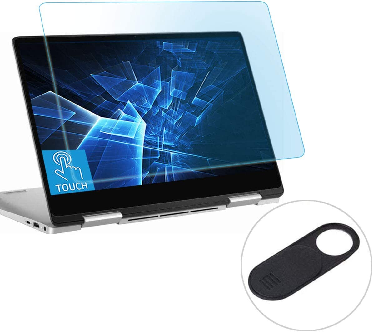 "Eyes Protection Filter Fit Dell XPS 13 9365 9370 13.3"" Touch-Screen Laptop Anti Blue Light Anti Glare Screen Protector, Eyes Protection Filter Block UV and Reduce Fingerprint"