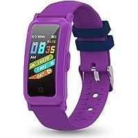 YoYoFit Śledzenie fitness dla dzieci z pulsometrem, pulsometrem aktywności z ciśnienia krwi i tlenu krwi, zegarek…