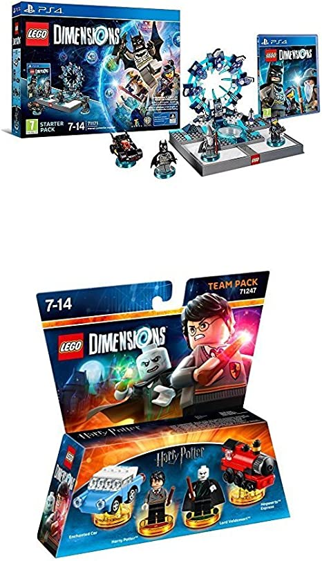 LEGO - Starter Pack Dimensions (PS4) + LEGO Dimensions: Harry ...