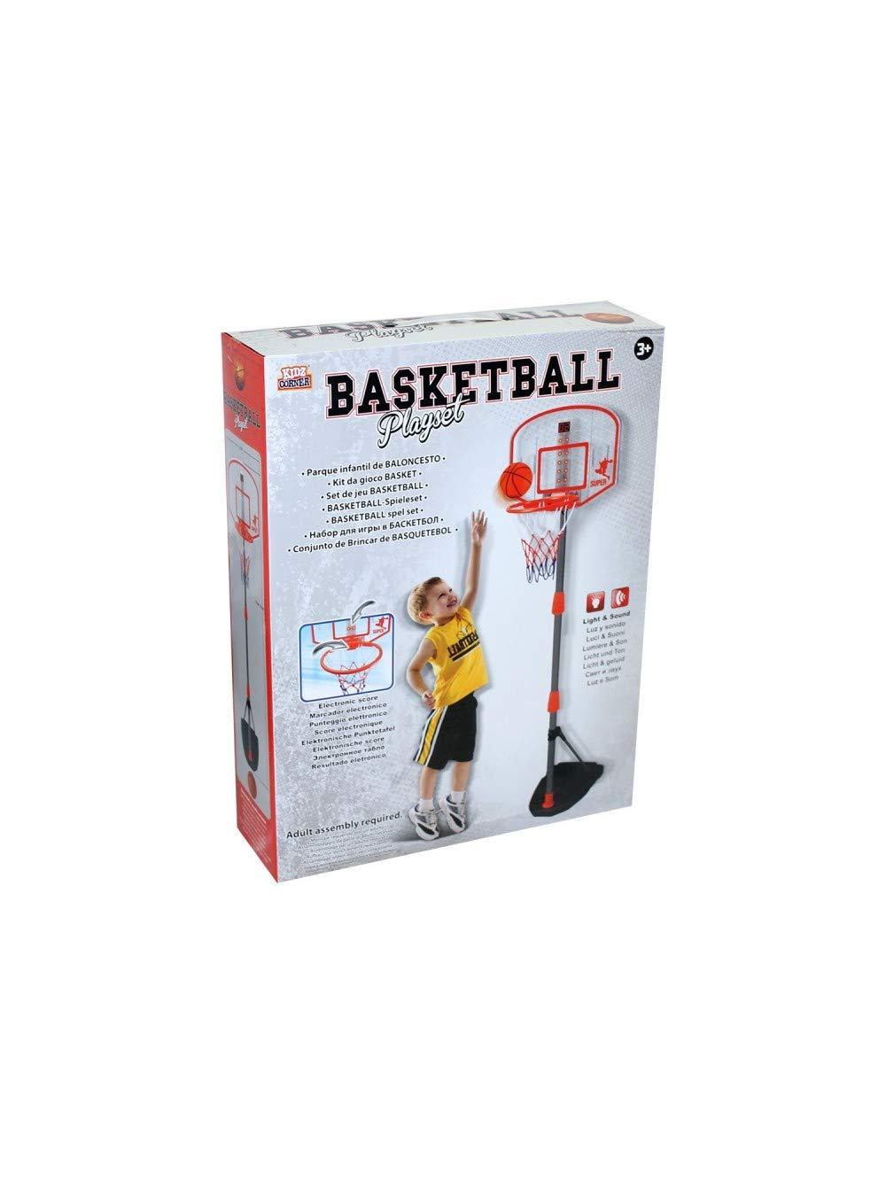 Verstellbare Boden Basketball Elektronik 43X97 170cm Ball und Nadel für die Inflation 140