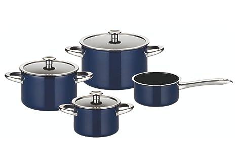 Amazon.com: ELO Premium Midnight - Batería de cocina (acero ...