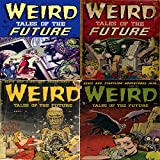 weird tales of the future issues 1 2 3 and 4 eerie and startling adventures golden age digital comic compilations science fiction