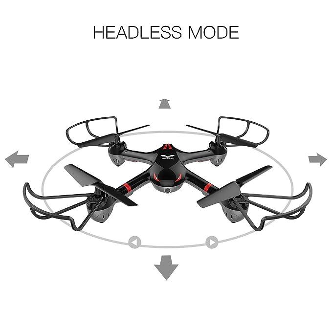 drocon Cyclone X708/x708 W primera Drone para principiantes serie ...