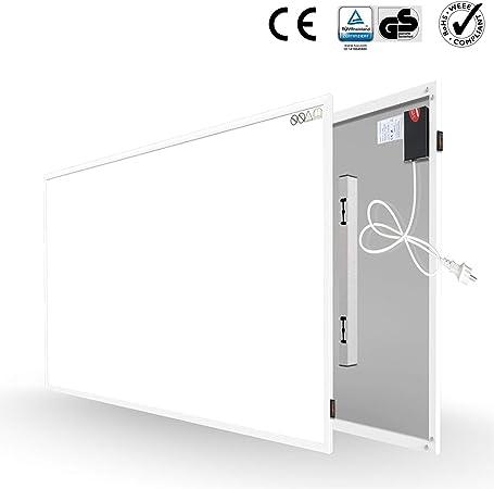 Infrared Heating Panel 580W /Économie d/énergie Plaque chauffante /à infrarouge lointain Protection contre la surchauffe Radiateur de chauffage au cristal de carbone avec RoHS CE GS