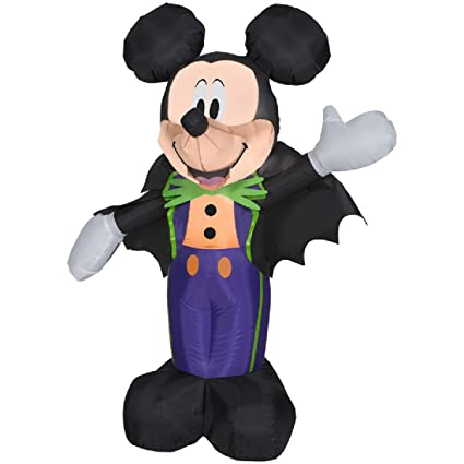 halloween disney inflatable 35 count mickey prop decoration by gemmy