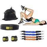 TOCO FREIDO Booty Resistance Belt Bands, Resistance Belt/Resistance Exercise Bands with Adjustable Waist Belt, Legs and Butt