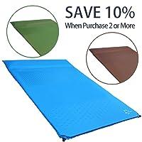 FRUITEAM Camping Sleeping Pad Self Inflating Mat n Deals