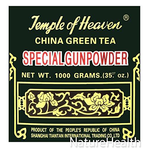 - China Green Tea Special Gunpowder 1 Kilo (1000grams or 35.27 Oz) Guaranteed Authenticity