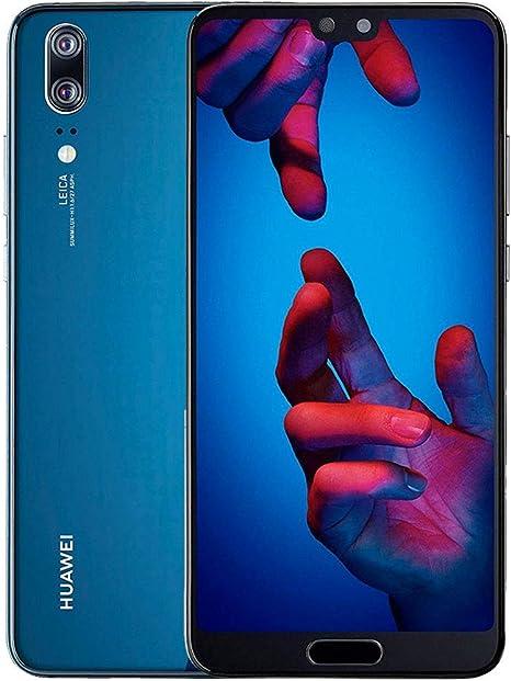 Huawei P20 Smartphone de 128 GB, Azul (Reacondicionado Certificado ...
