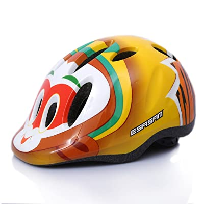 ÉSASAM Kids Cycling Bike Helmet Road Mountain Racing Bike Helmets Multi-Sport Safety Bike Skating Scooter Helmet for Children Girls/Boys : Sports & Outdoors