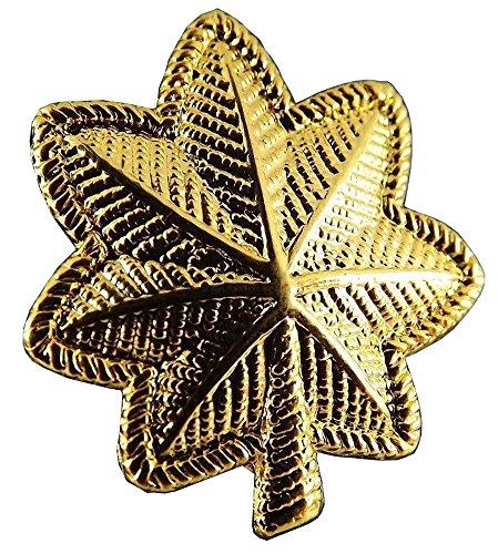 US Army Major Gold Oak Leaf Collar Lapel Hat Pin Emblem Badge New -