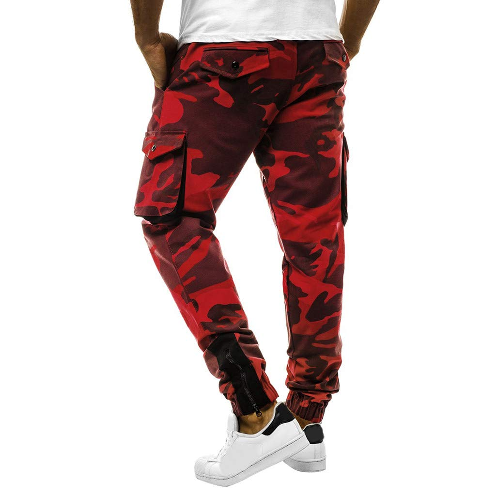 Lanskirt Pantalones Chandals Hombre Pantalones Hombres Ropa De Trabajo De Camuflaje De Bolsillo Deportes Pantalones Casuales Baratos Pantalon Casual Pantalones