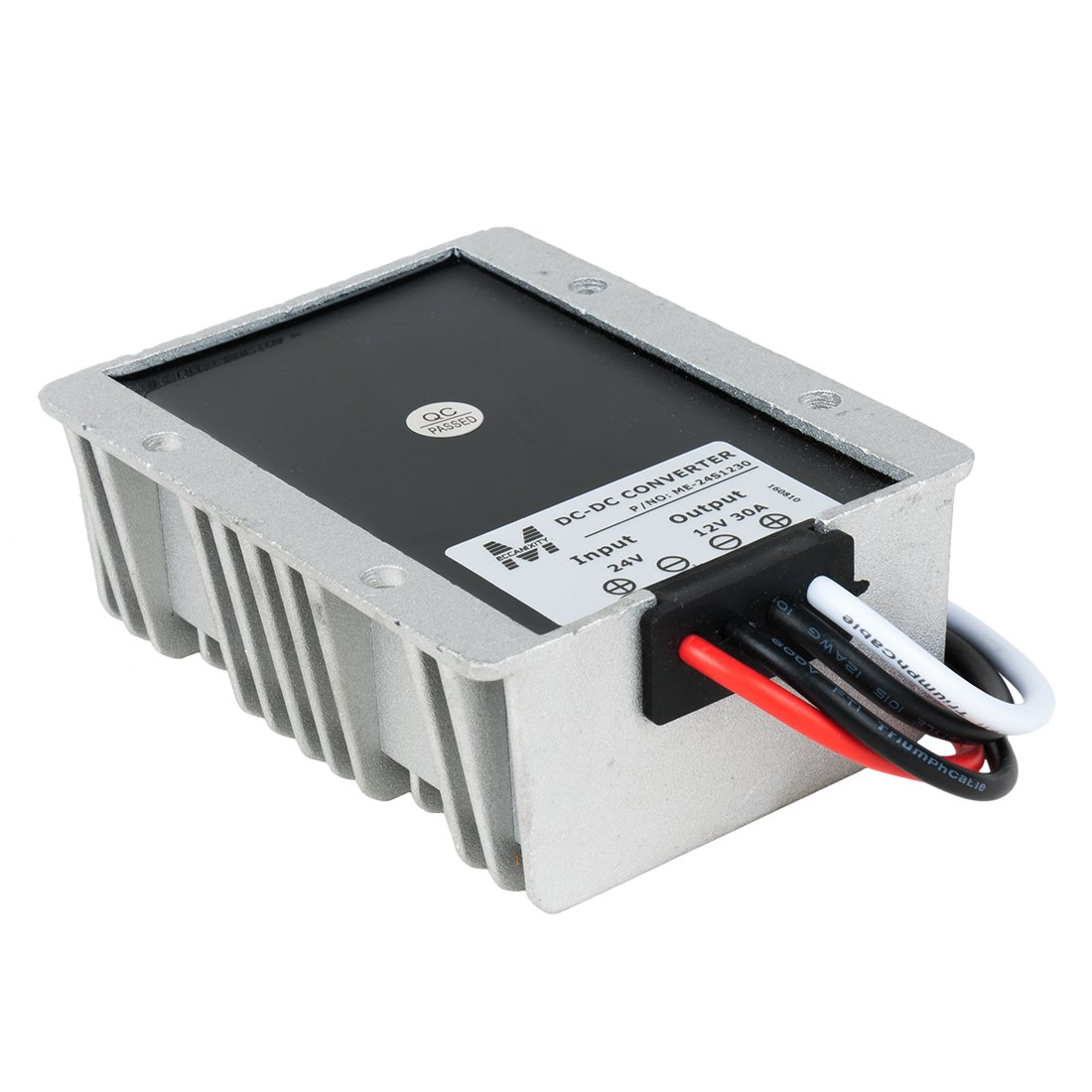 sourcing map DC 36V 24V 9-32V vers DC 12V 2A 24W Convertisseur Tension Alimentation stabilisant