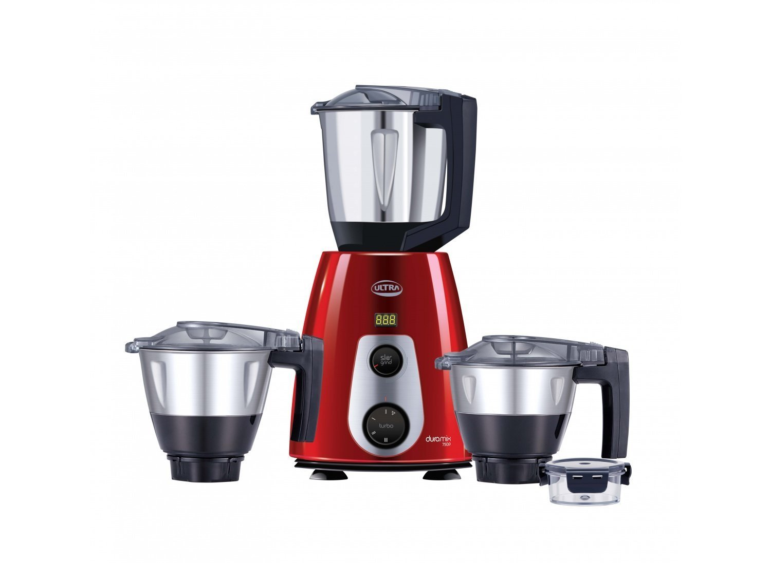 Ultra DuraMix-Red 750W 110V Mixer Grinder, Passion Red