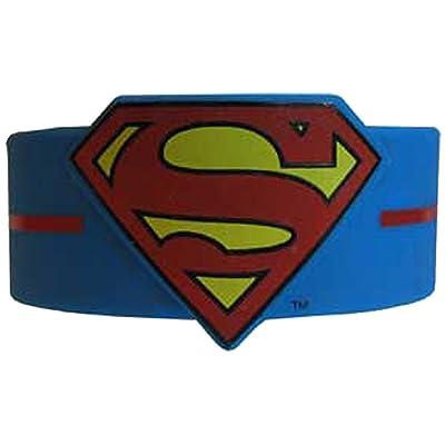 Licenses Products DC Comics Originals Superman Logo Wristband: Toys & Games