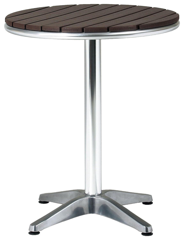 ガーデン アルミテーブル φ600×H725mm (番号:1 / 商品内訳:1台) B0094GEZD4